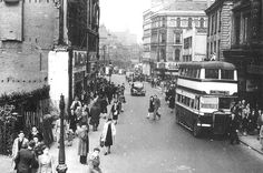 Image result for old photos of birmingham Birmingham City Centre, Birmingham England, Old Street, West Midlands, Yesterday And Today, Old Town, Old Photos, Past, Street View