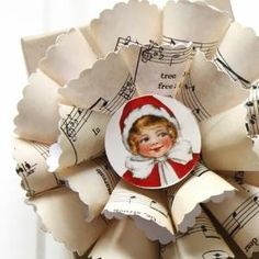 Sheet Music Christmas Ornaments - The Graphics Fairy by vivian