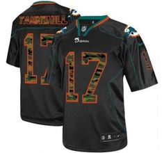 NEW Miami Dolphins 17 Ryan Tannehill Lights Out Black Elite Jerseys(Camo  Number) - 0aa4ecd56918d