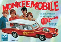 MPC Model Plastics Compnay  MPC 772  Monkeemobile Car Plastic Model Kit     Reissue of Classic Kit from 1968. Coming this Fall. Pre order it now @ MichToy