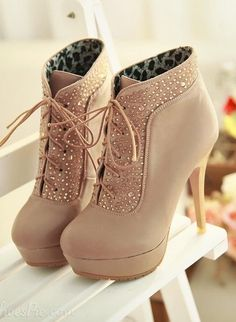 High-Heeled Boot