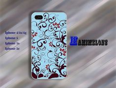 Flowers case iPhone 5 Case iPhone 4S Case iPhone 5S by hamimelons, $7.99