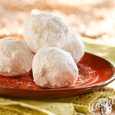 Mexican Wedding Cookies (Polvorones) from Crisco®