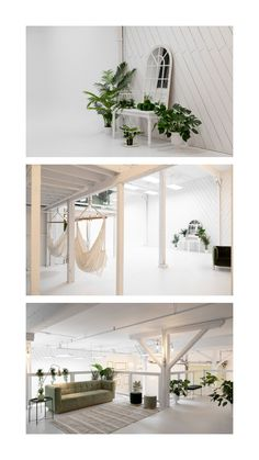 Lots of place, plants and props in this shabby chic studio location. Located in Montreal. Montreal, Studios, Garage Doors, Shabby Chic, Sunday, Places, Outdoor Decor, Home Decor, Domingo