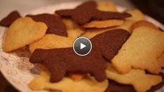 Herfst = op een regenachtige woensdagmiddag samen koekjes bakken (met recept en video)