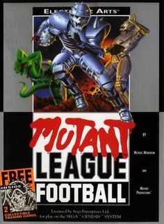Mutant League Football VS. Mutant League Football, 1993