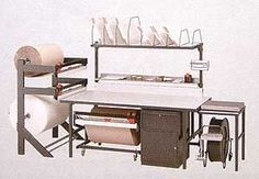 Industrial packing station