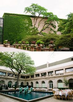 The Art Institute, Chicago outdoor garden, PERFECT wedding venue