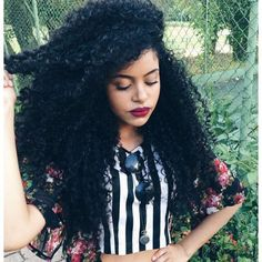 �� @steffany_borges YouTube.com/2FroChicks #naturalhair