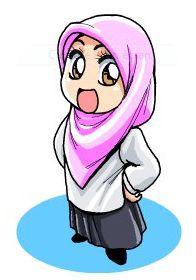 muslim child vector - Carian Google