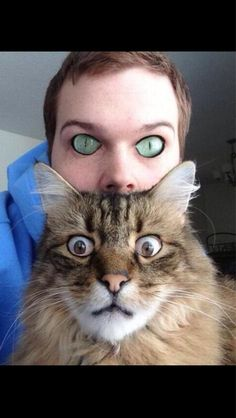 18 Frightening and Extremely Amusing Animal Face Swaps 2 - https://www.facebook.com/diplyofficial