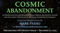 Mark Passio - Cosmic Abandonment