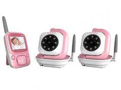 Babá Eletrônica Siga-me Baby c/ Câmera sem Fio - Transmissão Digital Siga-me + Câmera Avulsa