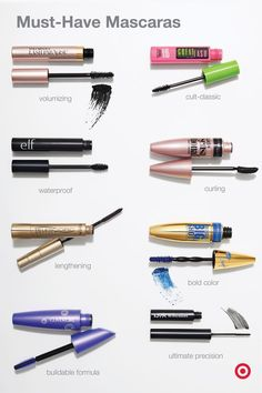 Whether you're a fan of major volume or lash-by-lash definition, your perfect mascara is out there—you just have to find it. Things to keep in mind? B Whether you're a fan of major volume or lash-by-lash definition, your perfect mascara is out there—y Makeup 101, Makeup Guide, Makeup Goals, Makeup Brushes, Eye Makeup, Makeup Shop, Makeup To Buy, Oily Skin Makeup, Makeup Geek