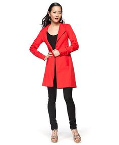 I'm in love with this Trench by Kara Laricks ... and since it's at Macy's - I might actually be able to afford it.