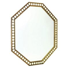 Check out this item at One Kings Lane! Knowles Oversize Mirror, Gold