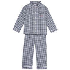 Boys Blue Cotton Pyjamas, Petit Bateau, Boy