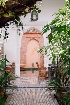 palais riad lamrani. morocco.