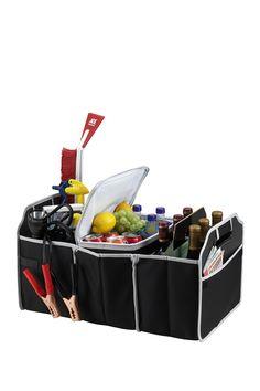 Black Collapsible Trunk Organizer & Cooler Set