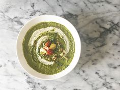 Green Goddess Soup {perfect for all of those leftover veggies}