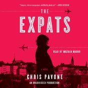 """Chris Pavone's """"The Expats"""" is a fun listen.  It reads like a movie--stay-at-home expat Mom's CIA past comes back to haunt her. But Pavone elevates the genre with serious thought on stay-at-home parenthood and the secrets one keeps from one's spouse.    Listening warning: Liberal use of flashback scenes require active listening. If your mind wanders, reading """"The Expats"""" is preferable.    Mozhan Marno's voice is deep, mysterious, and authoritative--perfect for the novel."""