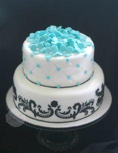 Pink Little Cake: Sweet 16 Birthday Cake