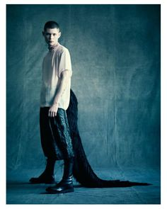 Simon Sabbah by Paolo Roversi for Man About Town