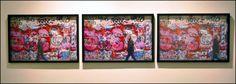 A exposição SARA 17 -deslocamentos, em cartaz no Centro Cultural Justiça Federal, reúne pinturas, fotografias, colagens, esculturas e trabalhos em papel de seis artistas brasileiros.  O evento está em cartaz até o dia 17 de novembro, com entrada franca.