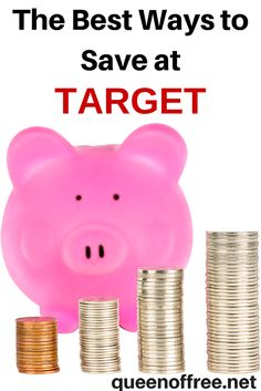 Attention Target Shoppers! Check out the best ways to save money at Target. 10 unique ways to maximize your money and keep your bank account from turning red.