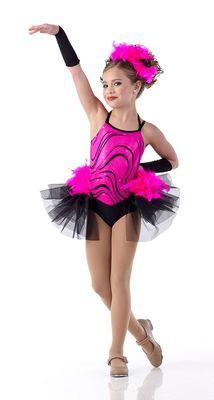 ... Lifetime's hit reality TV show 'DanceMoms' modeling for Cici Dancewear