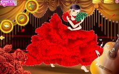 Juego de vestir a la muchacha flamenca | La cocina de Bender lacocinadebender.com