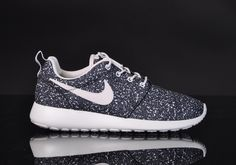 Nike Roshe Run Weiß Schwarz