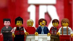 Lego One Direction & Simon Cowell!