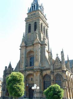 basilique Notre-Dame-d'Espérance- Charleville-Mézières, Ardennes