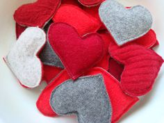 Valentines Day Heart Hand Warmers RED HOT Reusable от WormeWoole