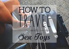 Going away on a trip but scared to take your vibrator? Don't be! With my guide on How To Travel With Sex Toys, I share my tips and tricks to help you feel confident and for your toys to stay hidden!