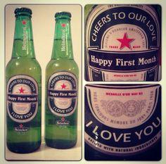 Relationship anniversary ideas... Perfect boyfriend gift #beer