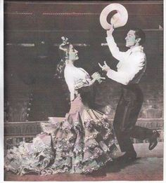 Antonio El Bailarín y Carmen Rojas, en el libro de Arnold Baron Ballet Finale, Londres
