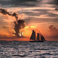 Mallory Square, Key West, Florida - Enjoying a beautiful #sunset...