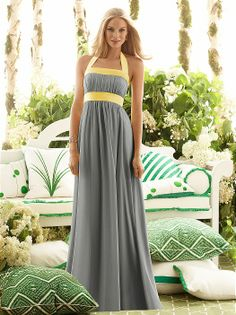 Weddington Way is your one stop shop for bridal party fashion online. Explore our boutique for the largest selection of beautiful bridesmaid dresses, suit & tuxedo rentals for the men, bridesmaid gifts, accessories & more. Tea Length Bridesmaid Dresses, Beautiful Bridesmaid Dresses, Bridesmaids, Bridesmaid Ideas, Dessy Bridesmaid, Bridesmaid Duties, Yellow Wedding Dress, Robes D'occasion, Contemporary Dresses