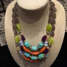 NWT Spring Break Necklace Amazing new Spring Break Necklace from the 2016 Premier Designs Jewelry collection! Love it! Premier Designs Jewelry Necklaces