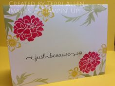 Fabulous Florets, Stampin' Up!