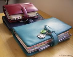 (Use ball chain for binder charms) Whimsicality: My Filofax Love Story