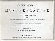 Venetianische Musterblaetter aus dem XVI Jahrhundert - Le Pompe, Second Book. [Venetian Pattern Sheets of the Sixteenth Century], , 1879