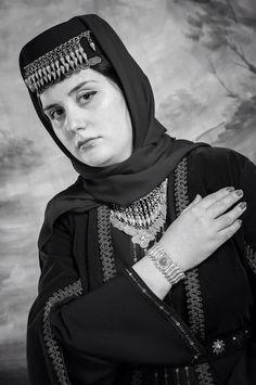 Jewellery by #Նարեկածին Beautiful Armenian  girl with Traditional costume and Vaspurakan silver jewellery.