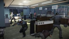 Watch Team Overkill Attempt the Perfect Payday 2 Bank Robbery