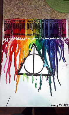 Harry Potter art. If only I was a better artist...do with shades of blue and white to make a patronus