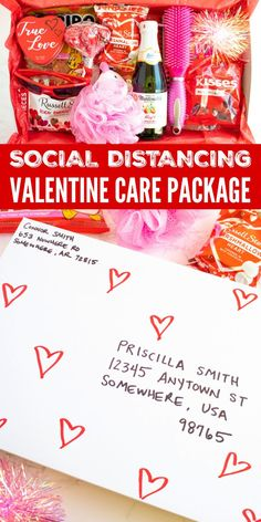 Make a Valentines Day Care Package for someone you love that