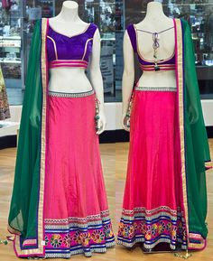 Chainya Choli To place an order or inquire about the outfits please email at zarii.india@gmail.com