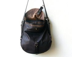 1903 ORIGINAL PACK small leather backpack by roughandtumblebags